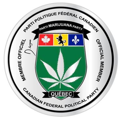 Membre parti marijuana Québec