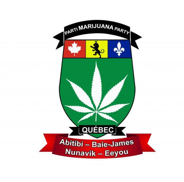 Parti marijuana Abitibi Baie-james Nunavik Eeyou